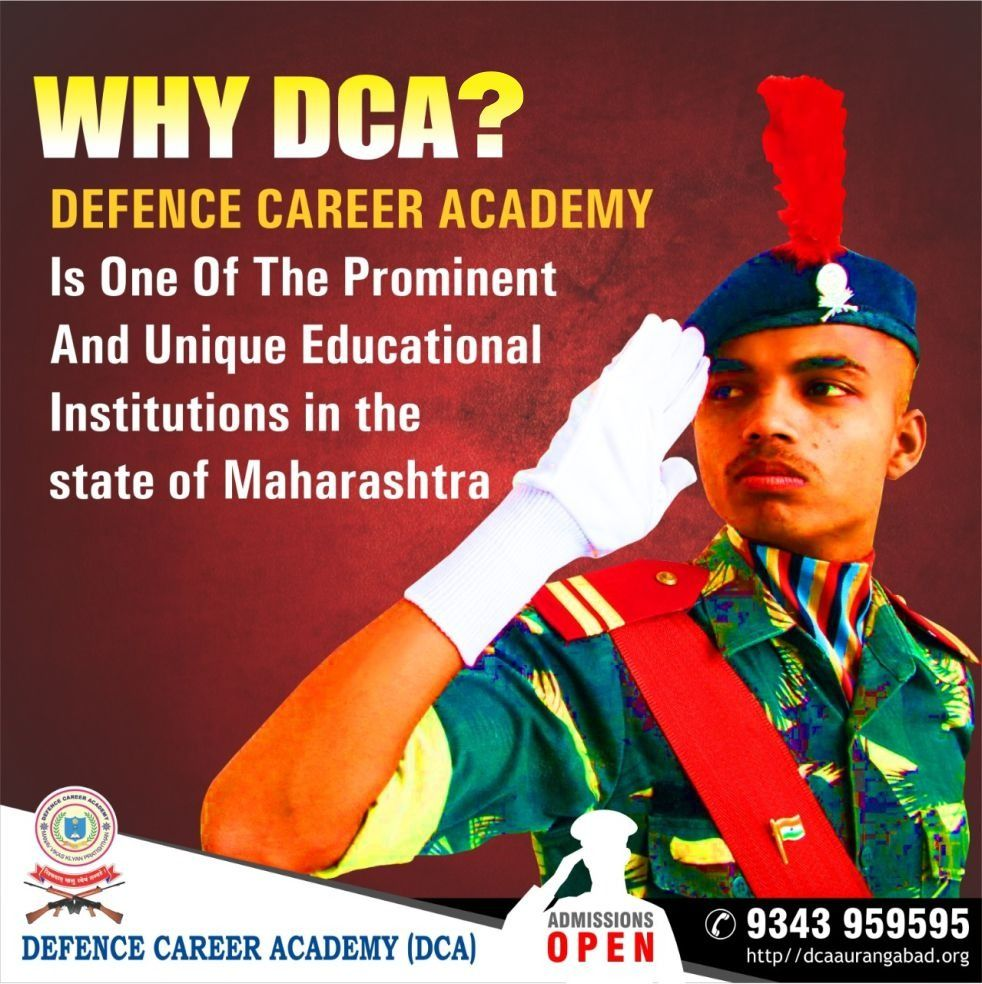 Why_DCA ? in 2020 Academy, Defence, Education