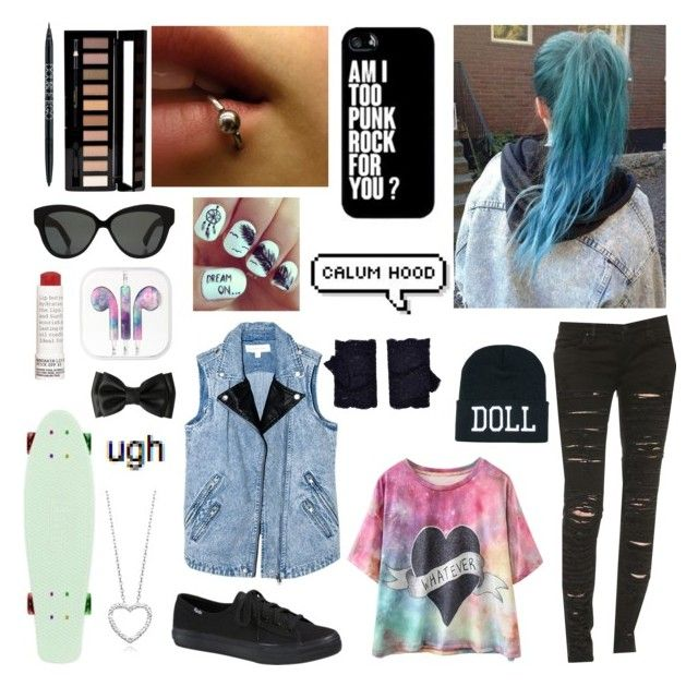 """""""Lunch Date with Calum :*"""" by iamtitanium7 ❤ liked on Polyvore featuring Linda Farrow, Finders Keepers, PurMinerals, Forever 21, Korres, Accessorize, Blank Denim, Keds and 5sosfam"""