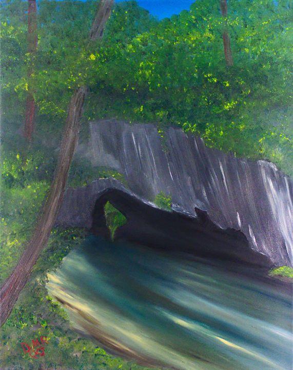 The Arch in Sinking Valley - Richersd Art Studios LLC - Paintings & Prints… | ArtPal thumbnail