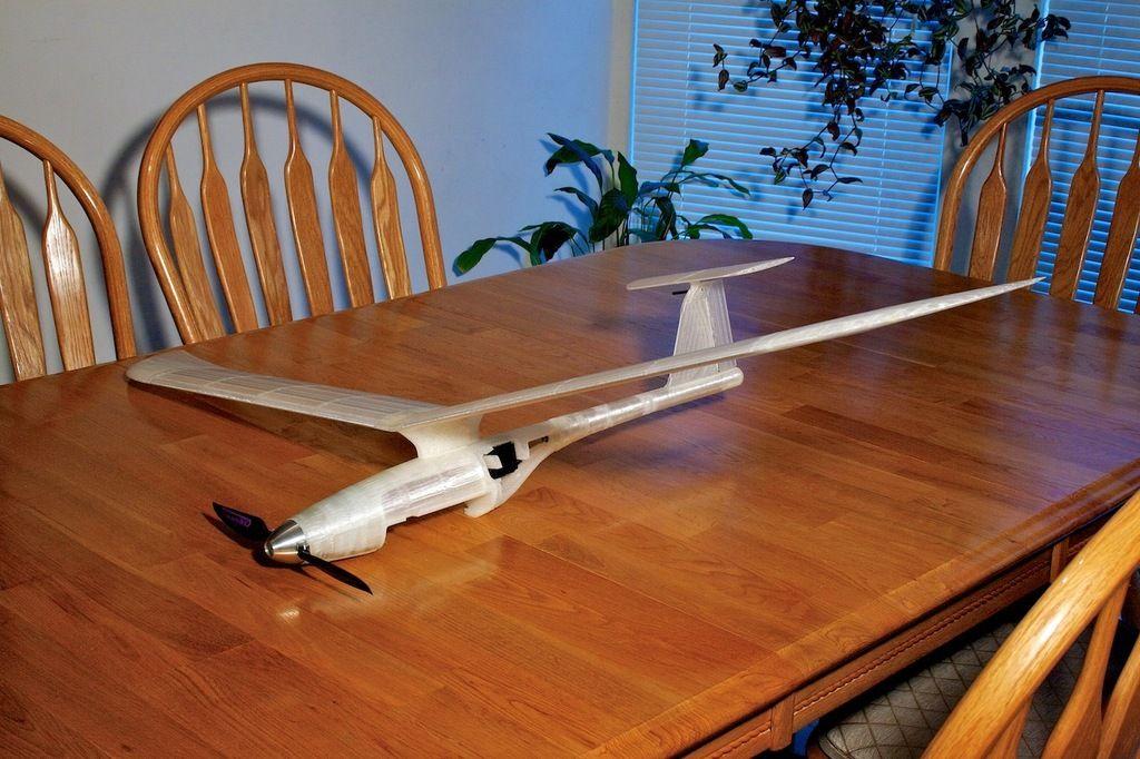 Fully 3D printed modular RC Sailplane  by Walt  | 3D