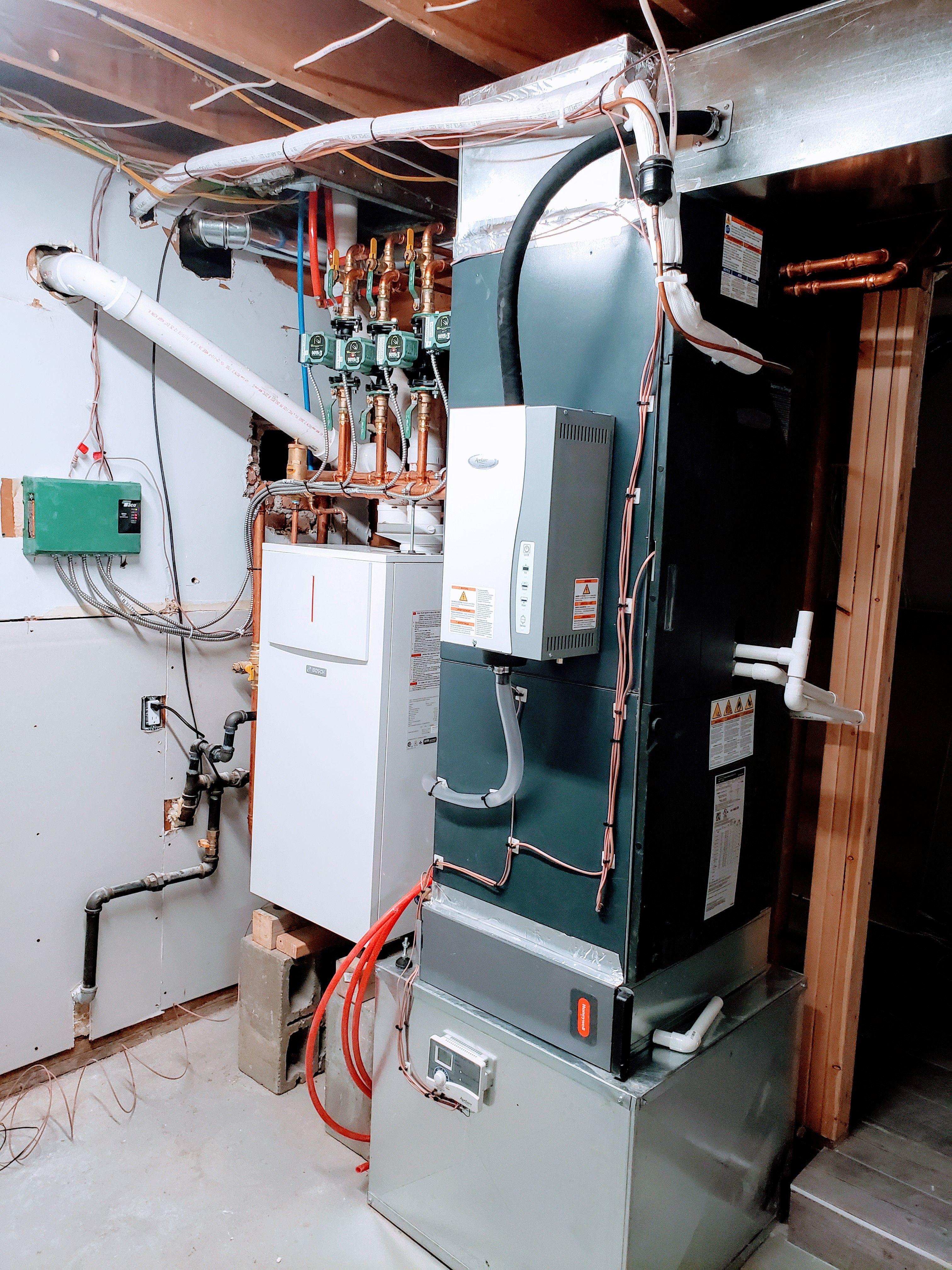 Jetaircompany Installing Insane Residential Hvac System Including