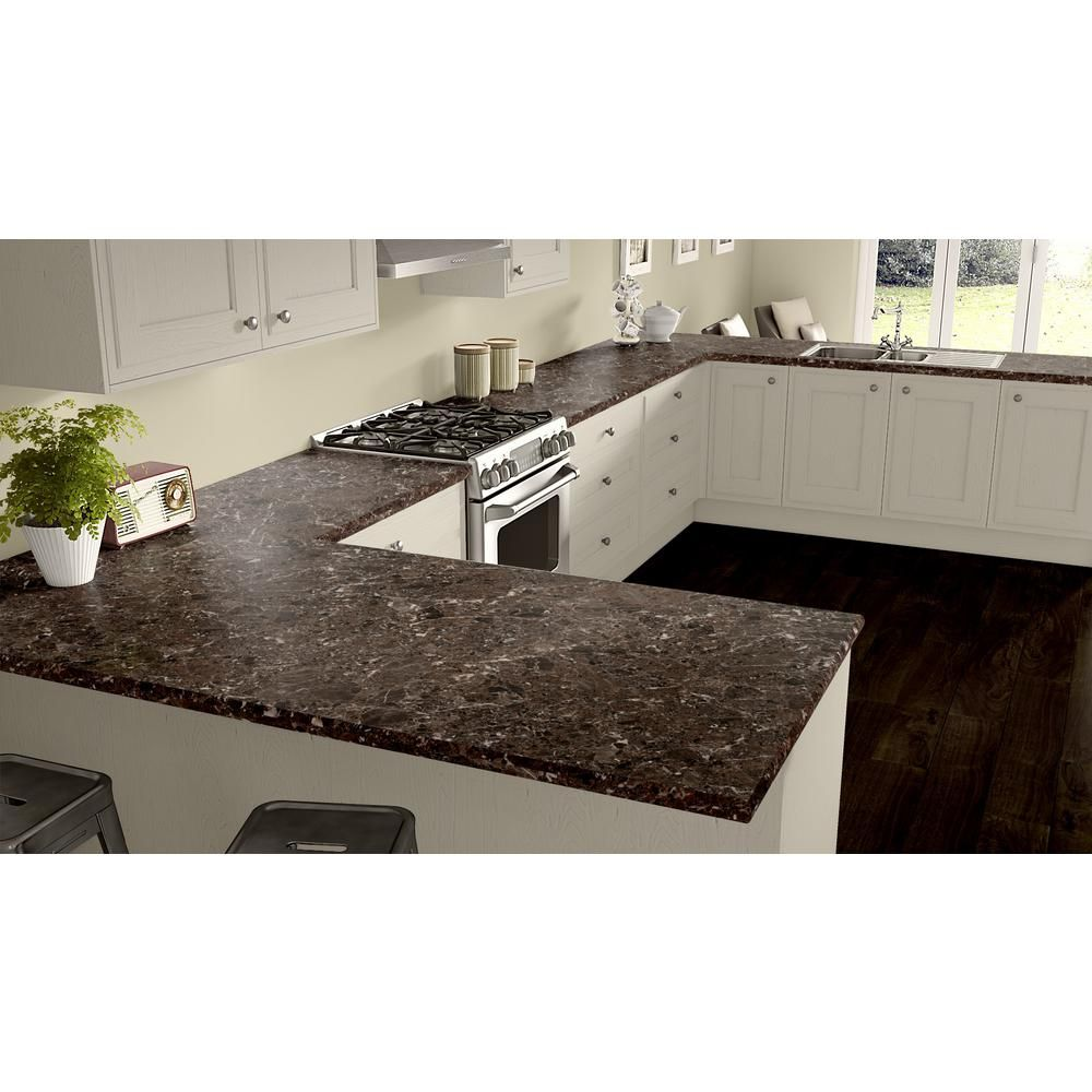 Wilsonart 3 In X 5 In Laminate Countertop Sample In Breccia Nouvelle With Premium Quarry Finish Mc Laminate Kitchen Kitchen Countertops Laminate Countertops