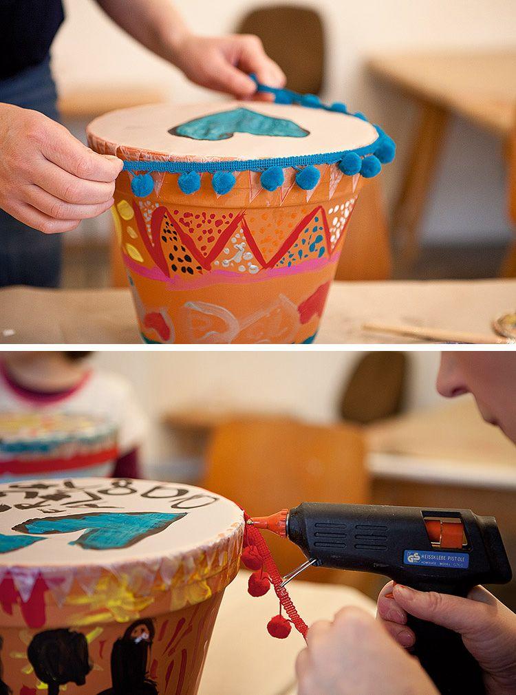 Topftrommel - HANDMADE Kultur #musicalinstruments