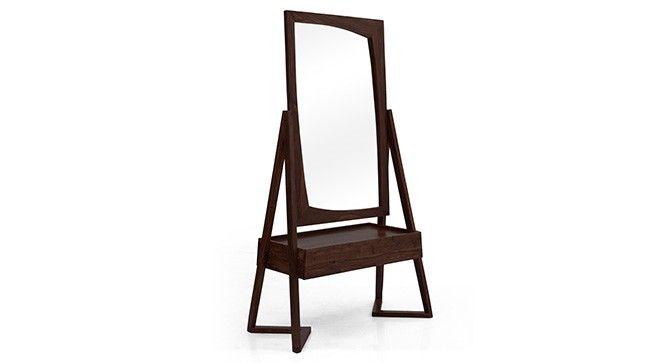 The Angular Legs And Asymmetrical Mirror Add A Stylish Twist To A