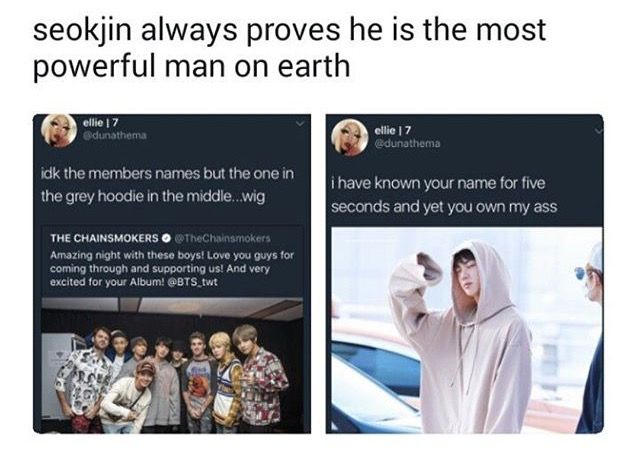 mr worldwide handsome   Worldwide handsome, Bts memes, Seokjin