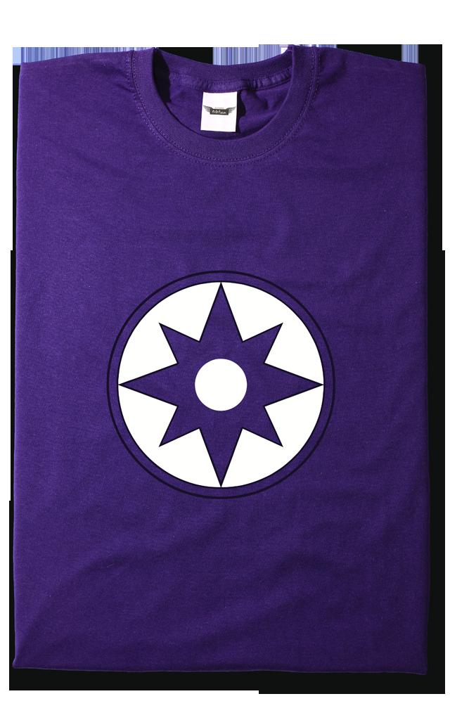 Camiseta Linterna Violeta  a13fc7e6705