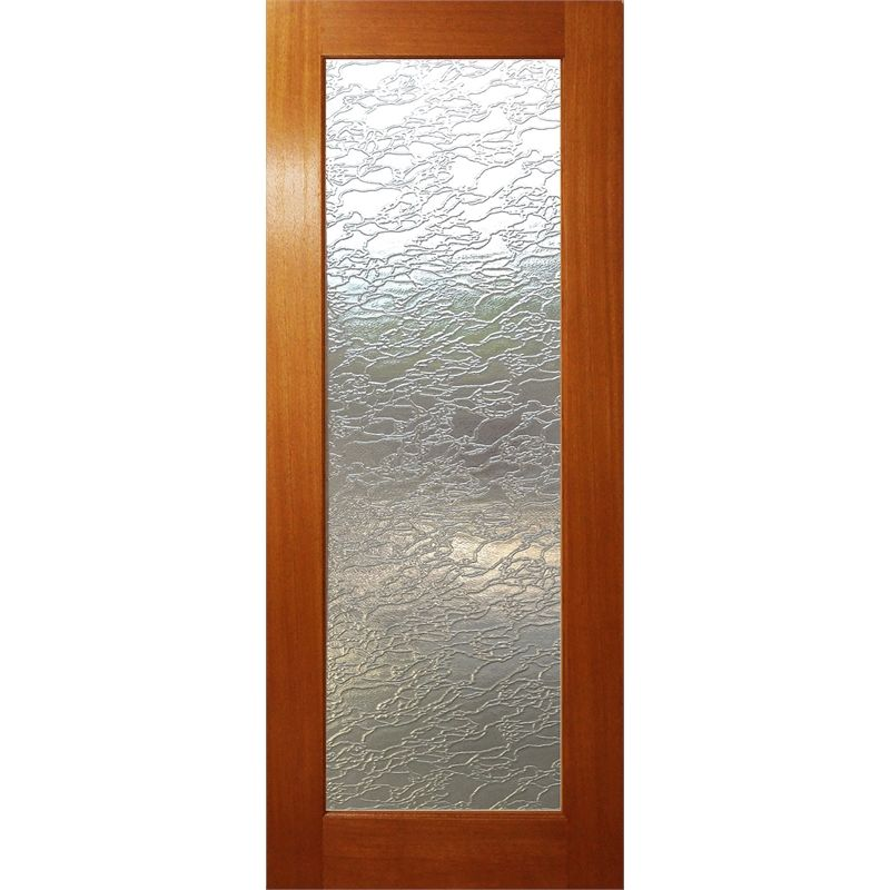 Woodcraft Doors 2040 X 820 X 35mm One Lite Delta Frosted Safety Glass Internal Door Safety Glass Internal Glass Doors Internal Doors