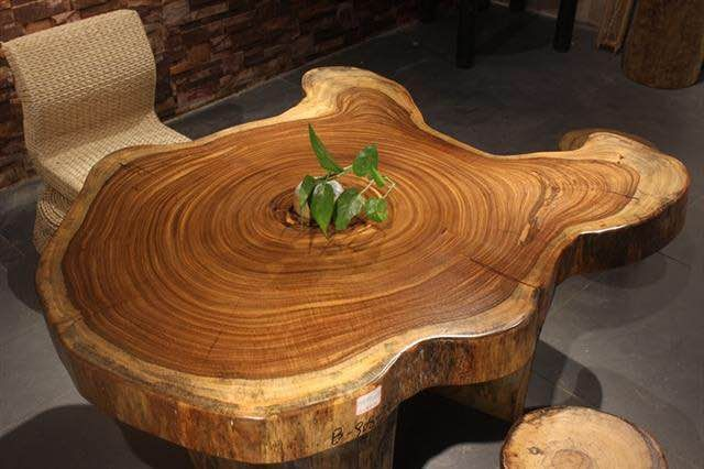 Own a piece of nature in your home a live edge wood slab