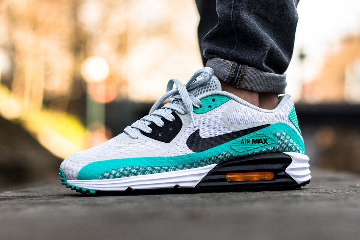 "Contagioso Clip mariposa Disgusto  Nike Air Max Lunar 90 Breeze ""Pure Platinum & Light Retro Green"" 5 