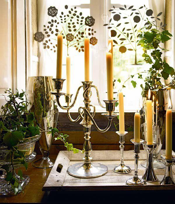 Ideas para decorar con velas en 2018 objetos de deseo pinterest candelabros antiguos - Candelabros modernos ...