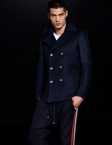 manteau homme balmain