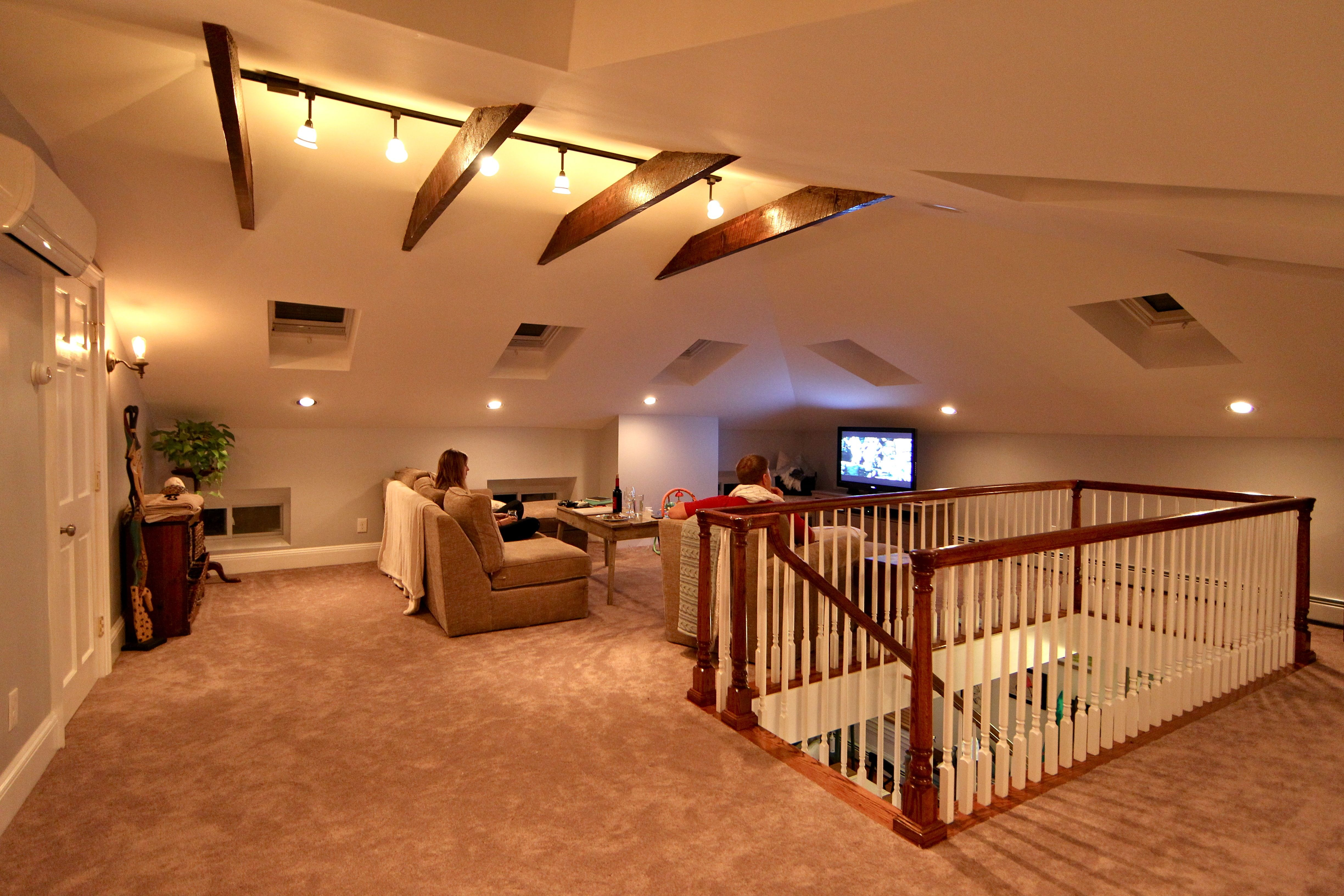 How Our Attic Addition Turned Out Attic Renovation Attic House Attic Design