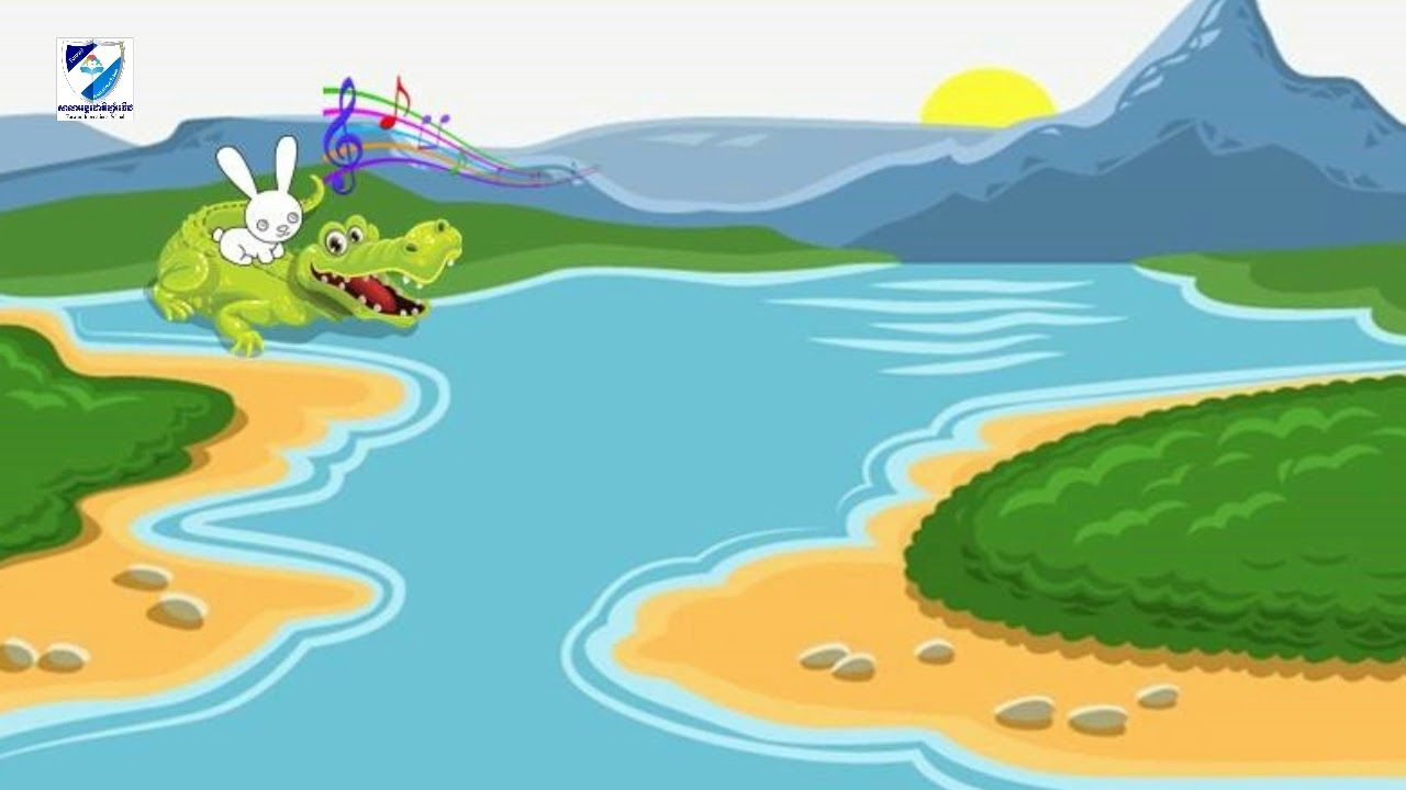 Khmer Tales Telling Story For Kids About Rabbit And Crocodile
