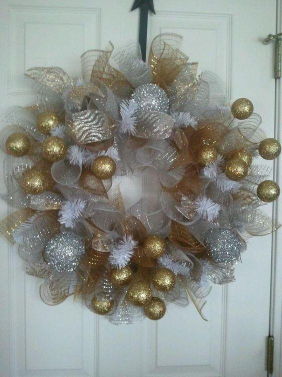 Ideas de coronas navide as navidad pinterest coronas - Coronas navidenas faciles ...