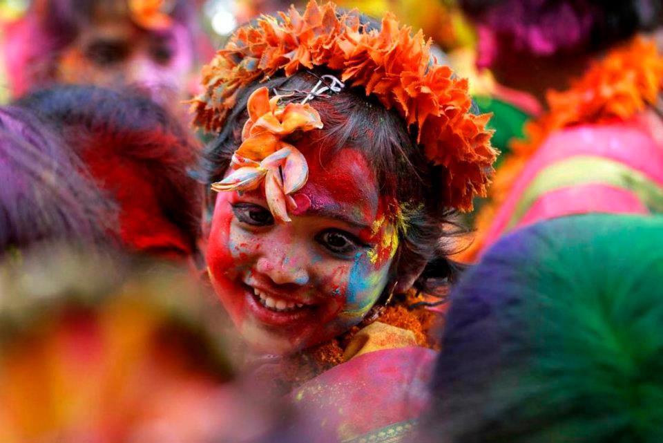 Holi India Festival De Colores Holi Festival