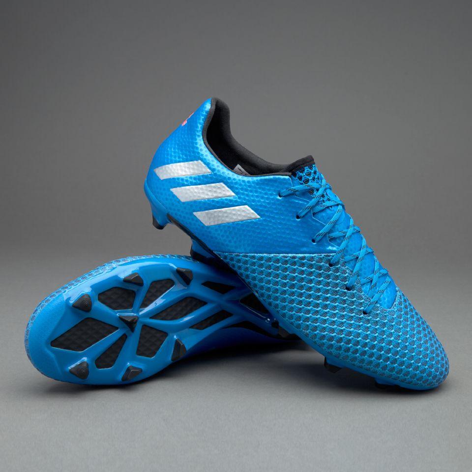 adidas Messi 16.2 FG AG - Shock Blue Matte Silver Core Black a118ce40ea1ae