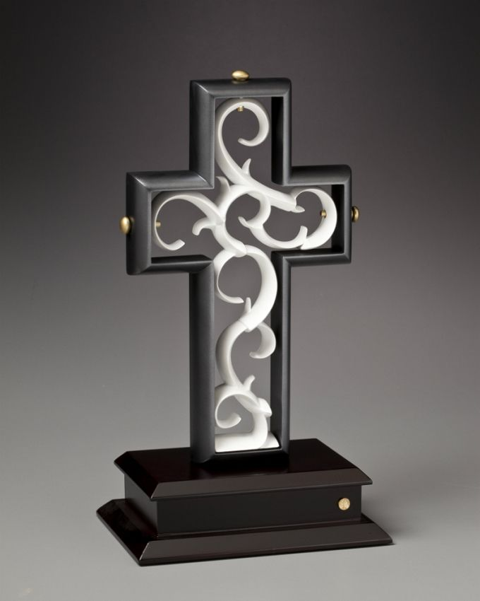 The Unity Cross® Artist Series Slate Black and Pearl White
