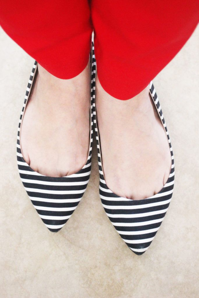 Striped Black And White Shoes With Images Black And