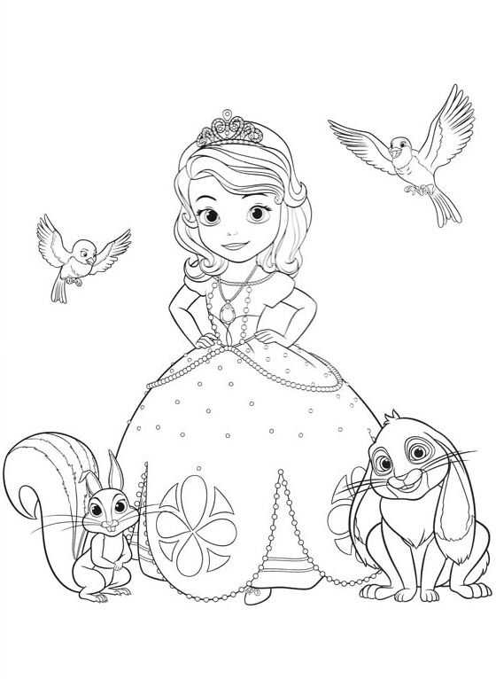 princesa-sofia-first-princess-princesinha-sophia-colorir-molde-risco ...