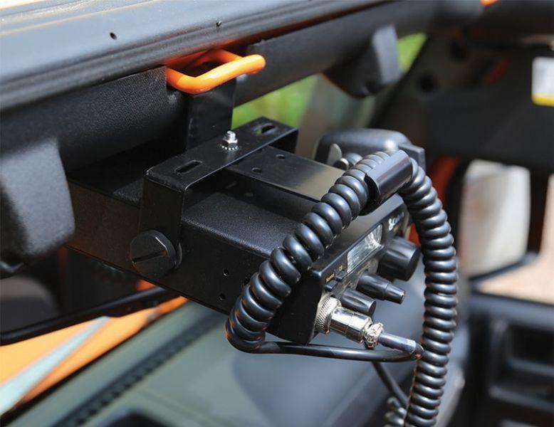 rugged ridge cb radio mount jeep pinterest rugged ridge jeeps rh pinterest com CB Antenna Wiring CB Mic Wiring