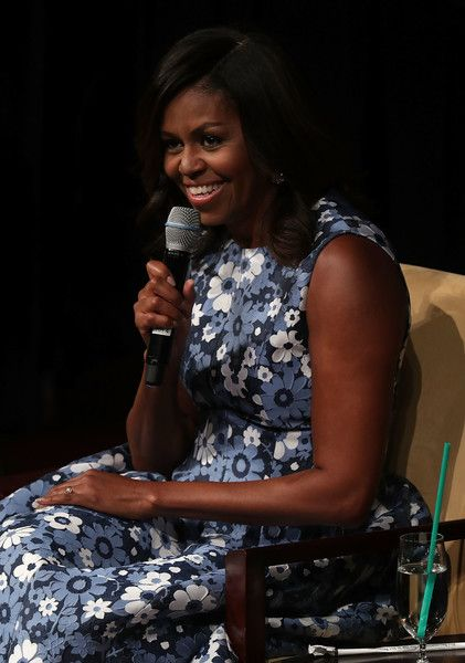 Michelle Obama Photos Photos - U.S. first lady Michelle Obama participates in a…