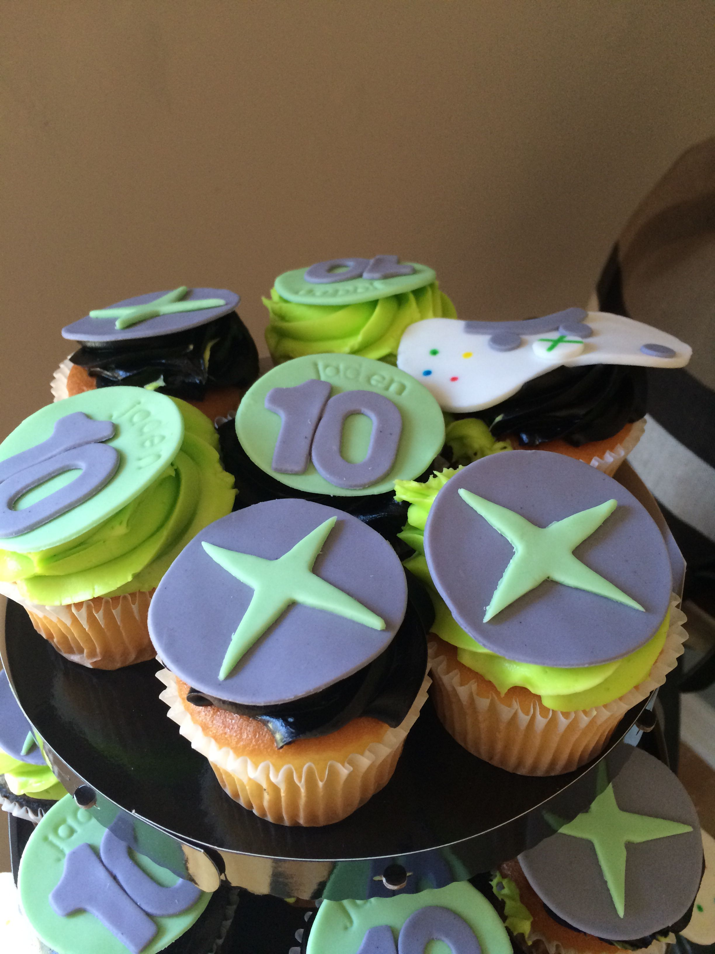 Xbox Cupcake toppers xbox