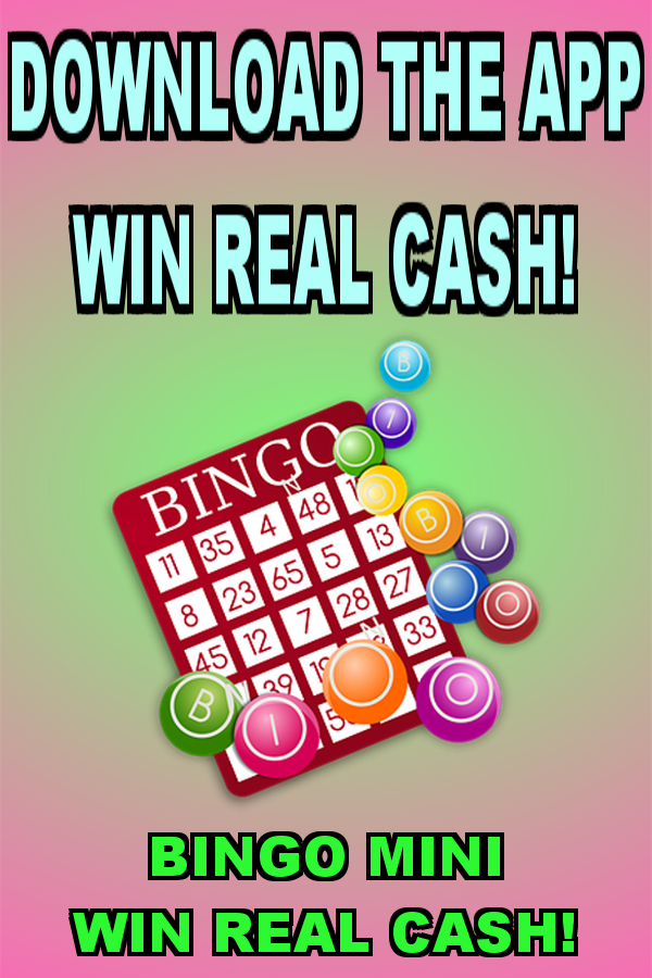 Win REAL Cash BingoMini App in 2020 Win money games