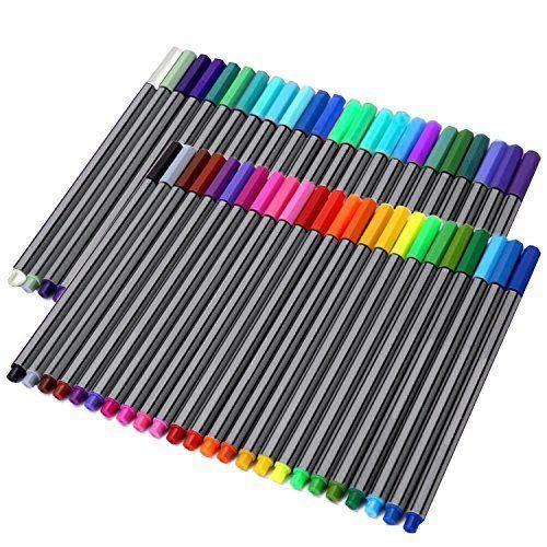 Staedtler 334 Triplus Fineliner Superfine Point Pens, 0.3 Mm, Assorted  Colours,