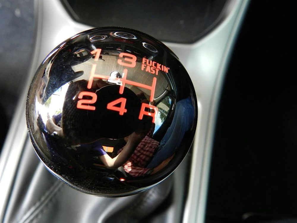 Vms fing fast shift knob for 5 speed subaru impreza & wrx