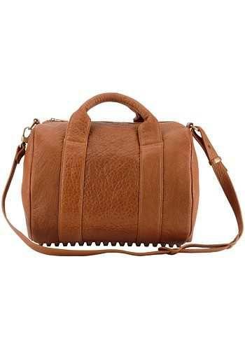 Alexa Studded Calfskin Leather Bag Camel for only  159  9d4d48d8ee325