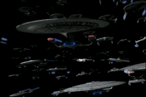 Rick Moranis Got Sucker Punched By Some Loser Giffers The Line Must Be Drawn Here Startrekgifs Star Trek Starships Star Trek Ships Star Trek Universe