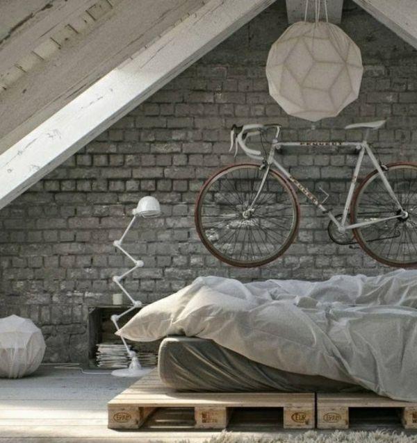 Schlafzimmer Ideen Für Männer: Fahrrad Wandhalterung Und Andere Fahrradständer, Die Sie