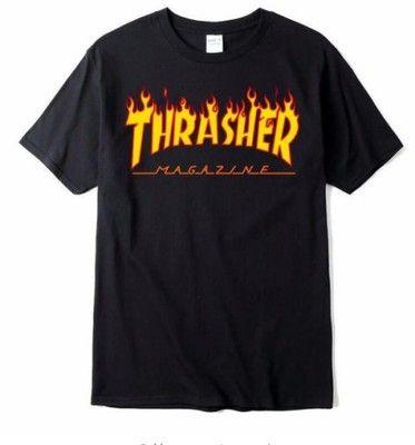 Thrasher Magazine Modna Koszulka T Shir Bluzk S 6790624003 Oficjalne Archiwum Allegro Thrasher Magazine Mens Tops T Shirt