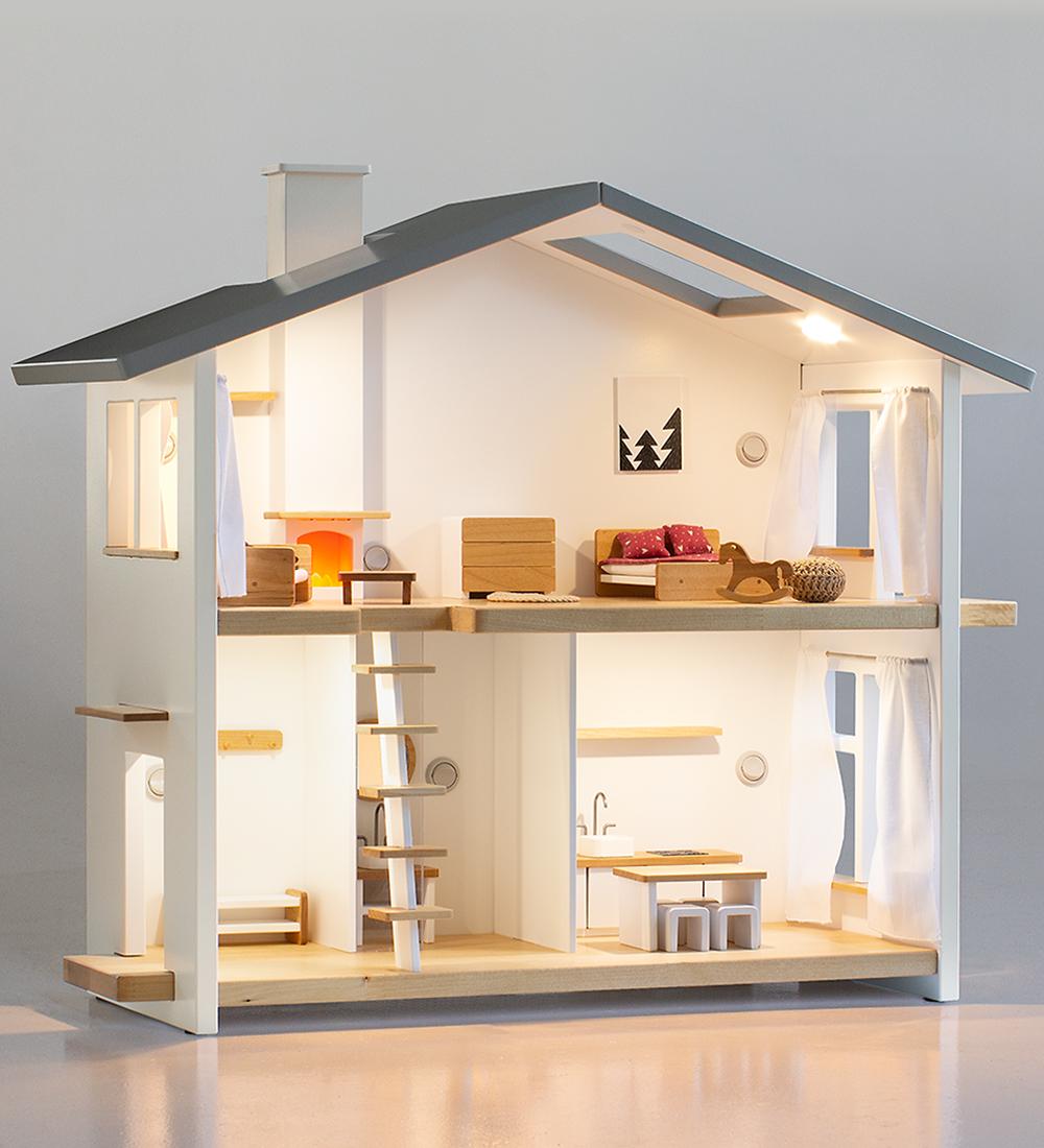 1//12 Dollhouse Miniature White Telephone Pretend Play Doll House Furniture T EW