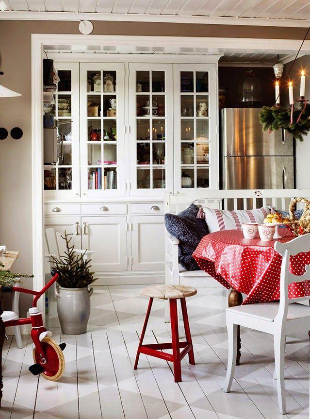 Inspiración Deco: Una casa nórdica navideña y llena de encanto