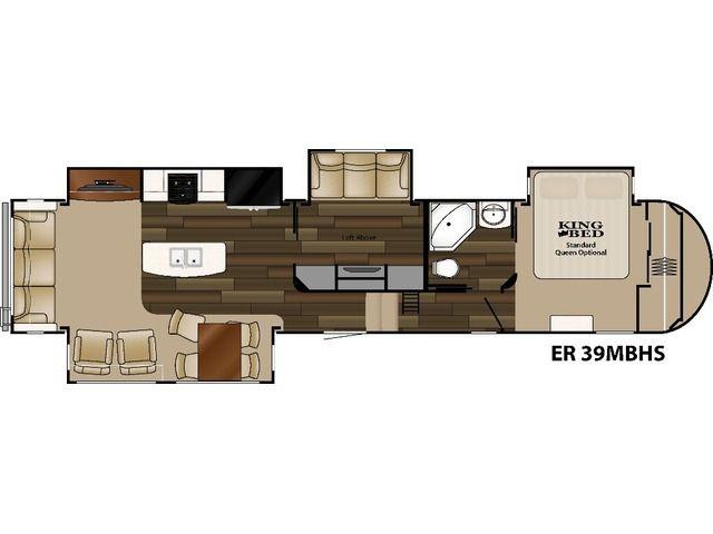Elkridge 39mbhs Fifth Wheels By Heartland Build Price Floor Plans Rv Floor Plans Elkridge