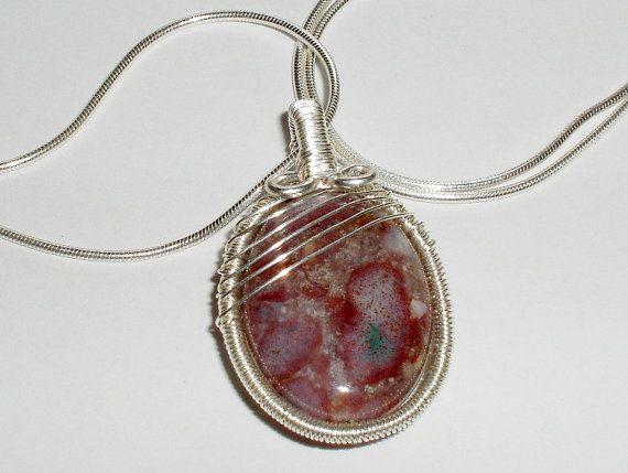 Simply Elegant Pendant tutorial and materials kit - Wire pendant ...