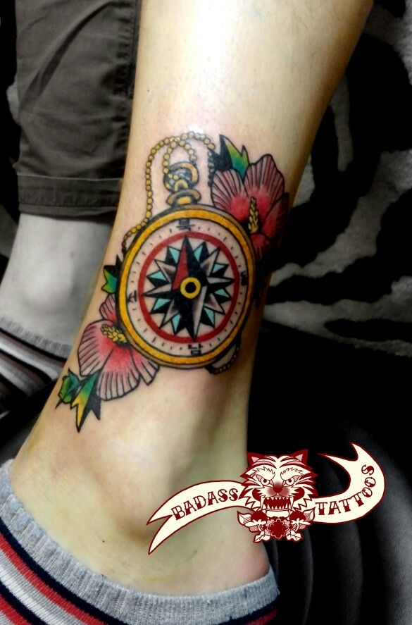 Korean National Flower Tattoo : korean, national, flower, tattoo, 나침반타투, #타투, #compass, #tattoo, #무궁화타투, #korean, #national, #flower, #tattoos, Badass, Tattoo, Dreamcatcher, Tattoo,, Tattoos,, Tattoos