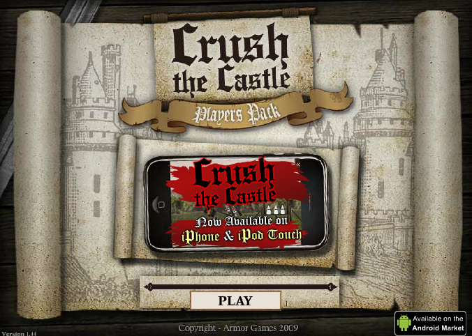Crush the Castle 3 unblocked play at school Bottle
