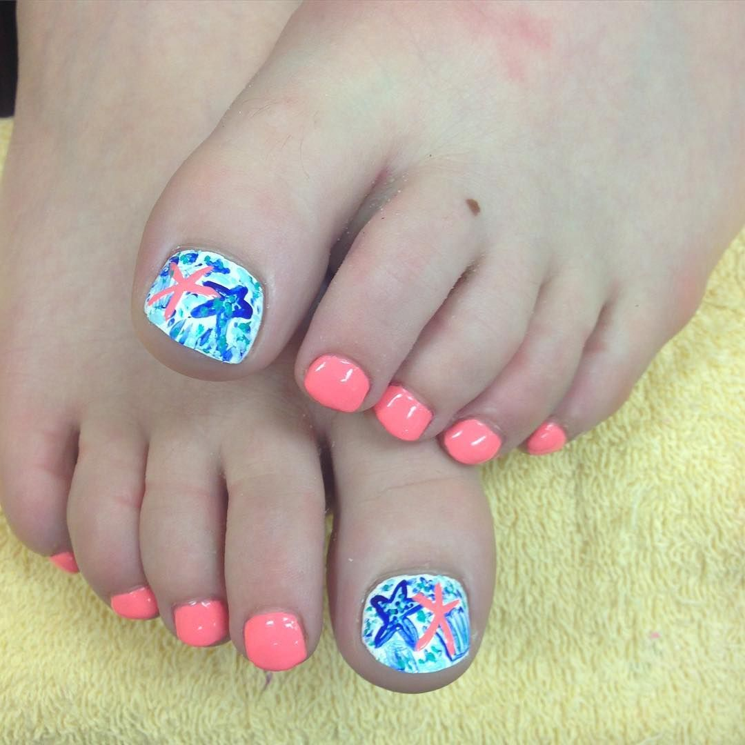 42 Summer Toe Nail Art And Design Ideas For 2018