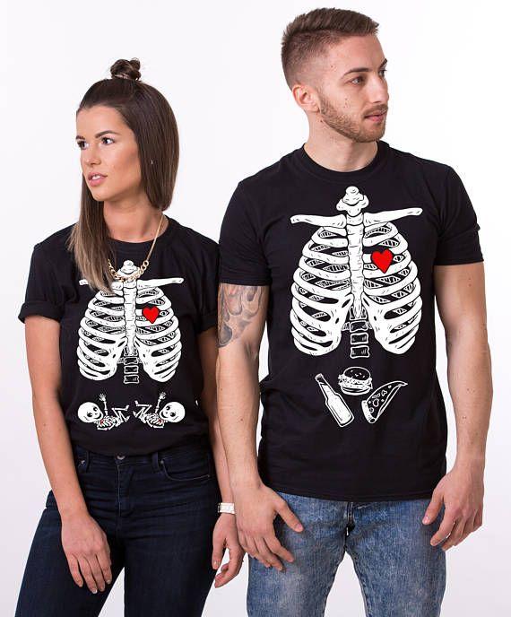 BABY GIRL Halloween maternity shirt, maternity shirt, matching Halloween shirts, skeleton baby shirt, Halloween shirt, Baby boy, UNISEX
