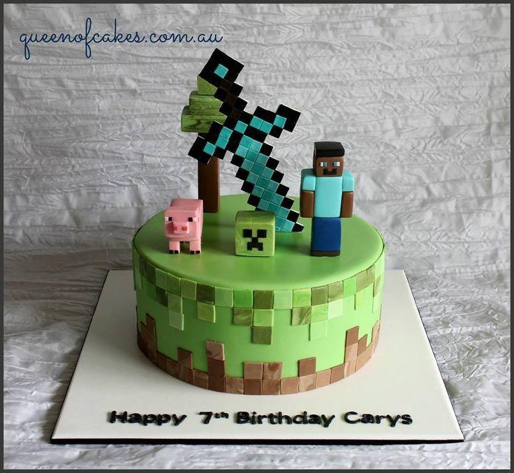 Minecraft Torte Das Ist Wirklich Eine Schone Idee Zum