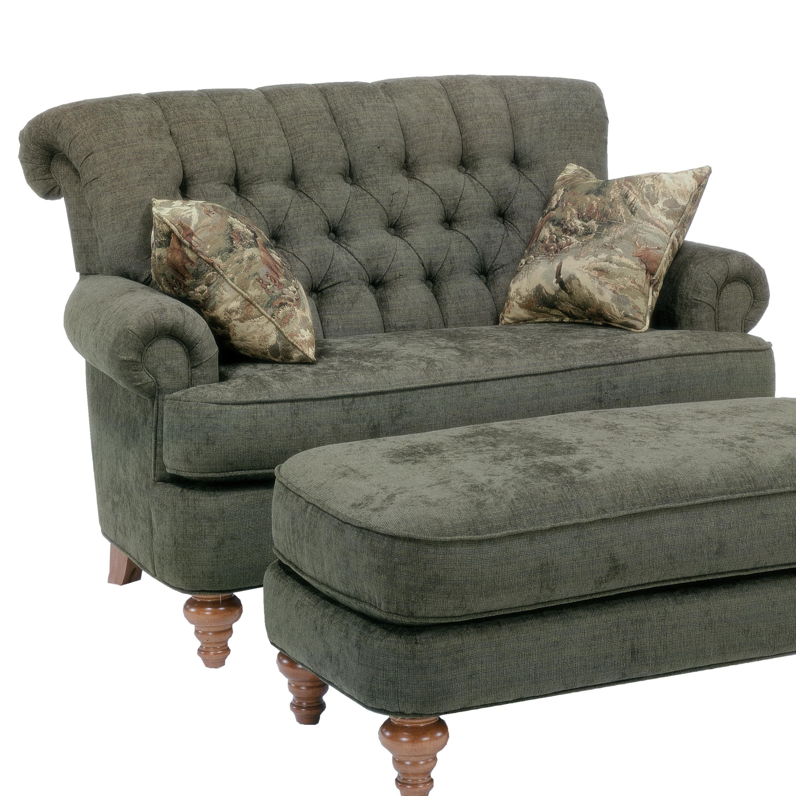 Flexsteel Sofa Vintage: South Hampton Settee By Flexsteel