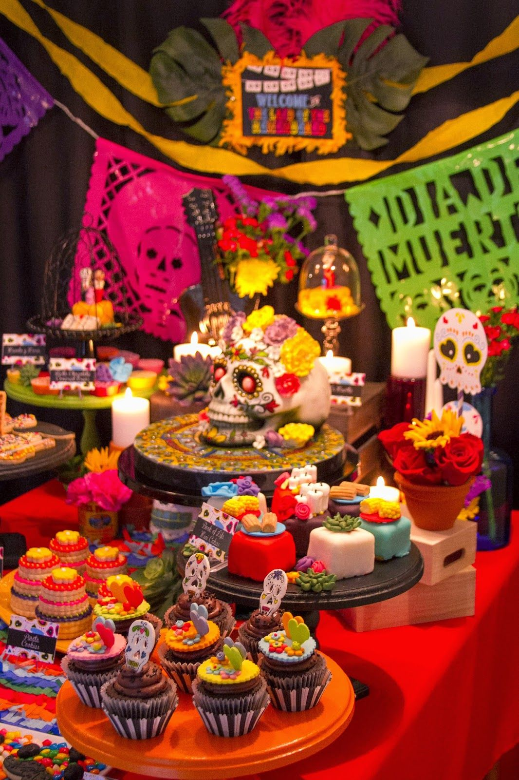The Book of Life Movie Release Party Dia de los Muertos Party