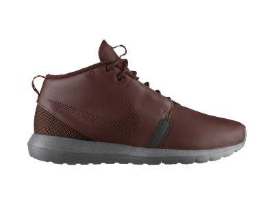 Nike Roshe Run SneakerBoot Men's SneakerBoot, barkroot brown/cedar/velvet  brown/hyper crimson