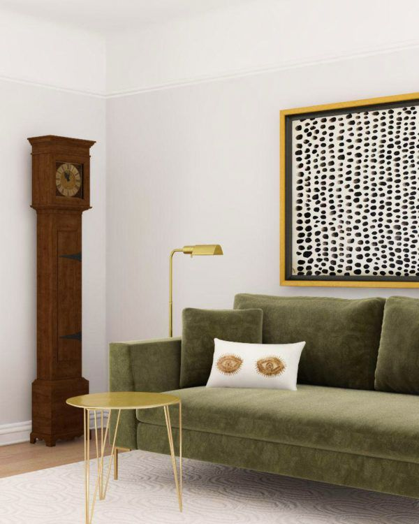How to Mix Vintage Pieces into Modern Spaces   Chic living room ...