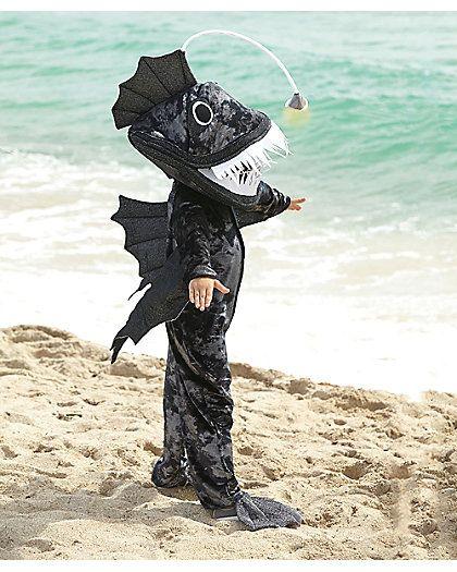 Anglerfish boys costume ootm 2014 2015 pinterest for Angler fish costume