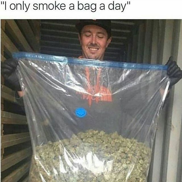 Just a bag   #Weed #Marijuana #kush #Cannabis #Ganja #420 #High #Stoner #Smoke #WeedPorn #Herb #InstaGood #InstaDaily #Dope #Love #Relax #Chill