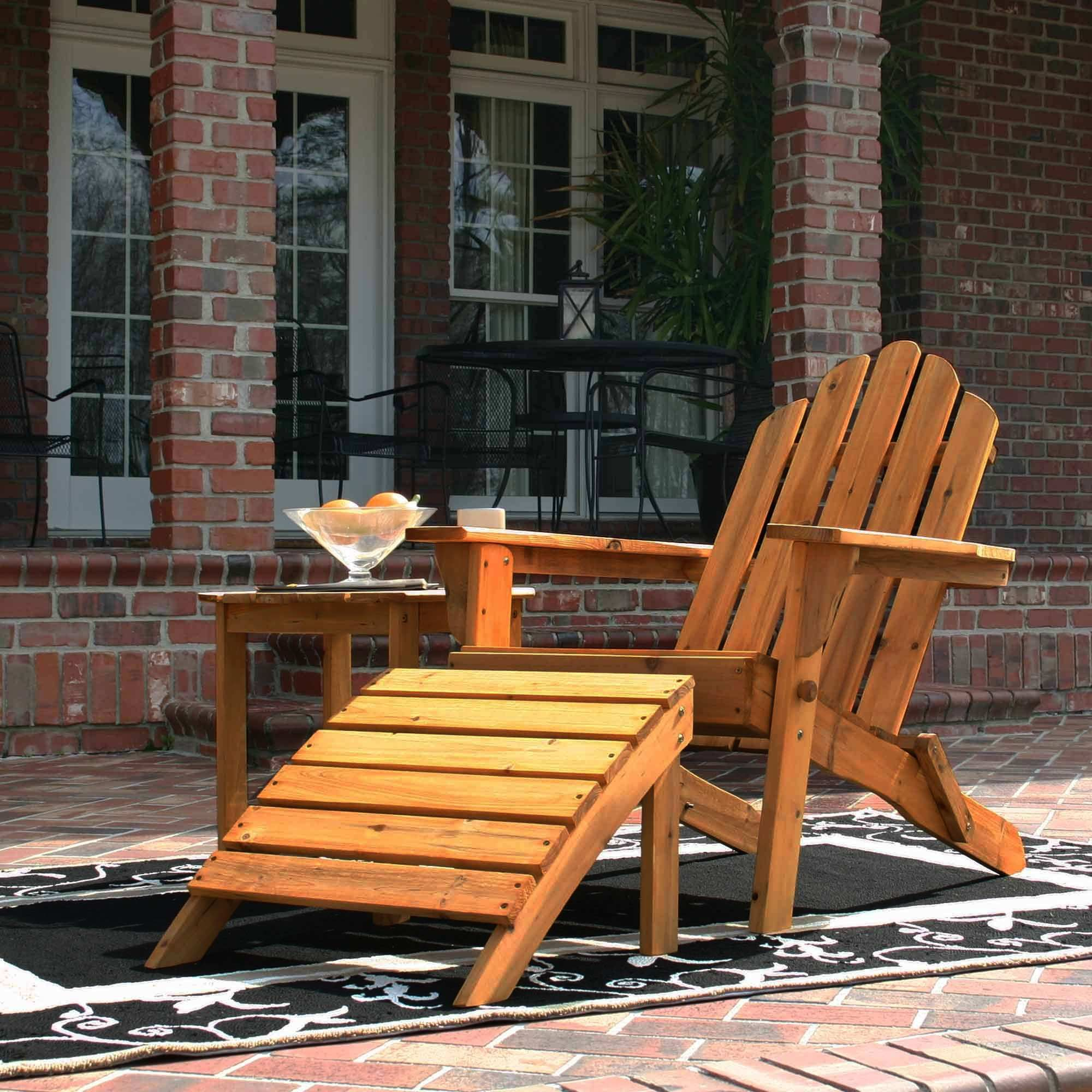 FSC Folding Adirondack Chair bo