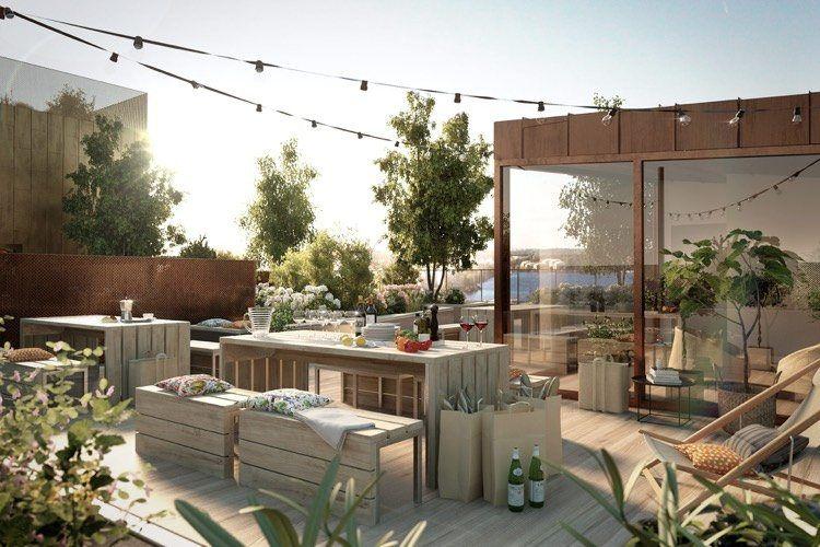 Dco Terrasse Appartement   Propositions Qui Vous Couperont Le